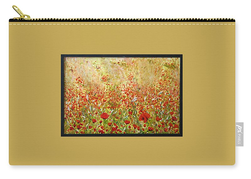 Landscape Carry-all Pouch featuring the painting Weeds by Pablo de Choros