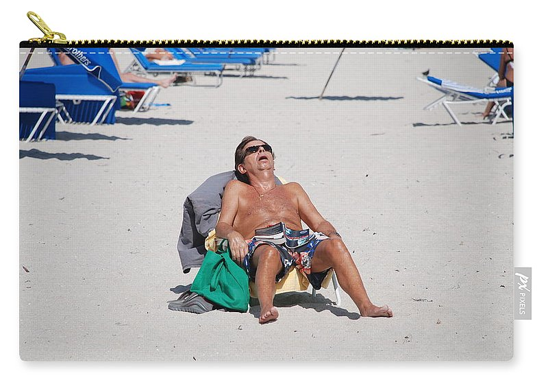 Beach Carry-all Pouch featuring the photograph Weekend At Bernies by Rob Hans