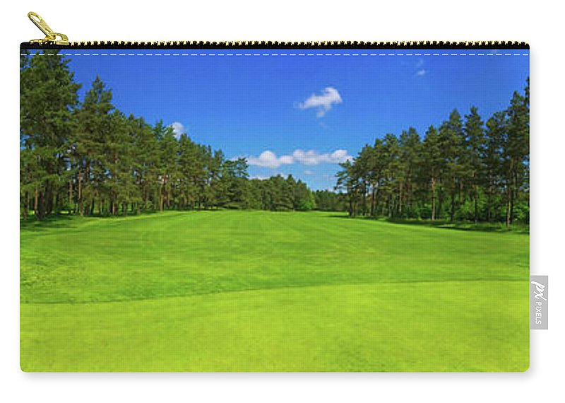 Golf Carry-all Pouch featuring the photograph Weekend Dreams by Mountain Dreams