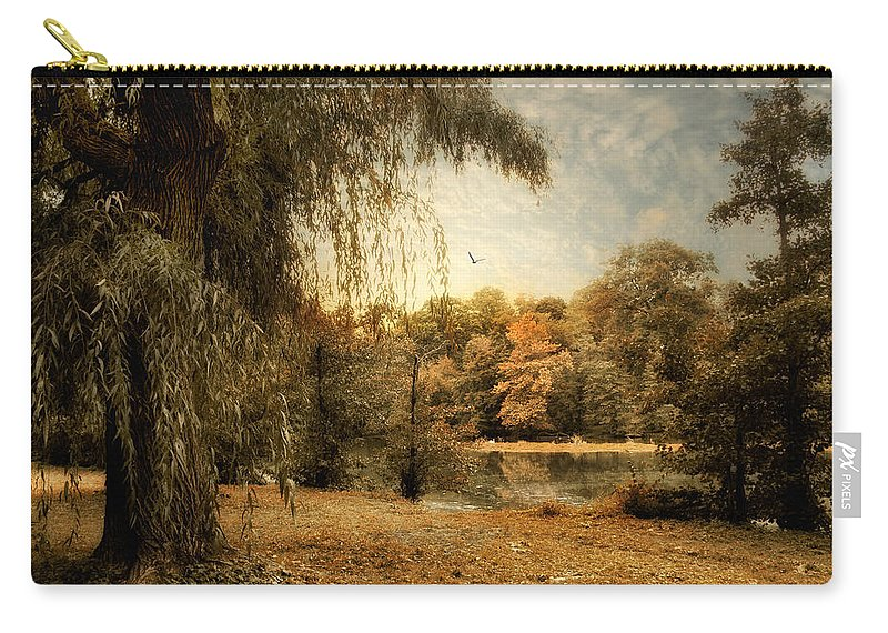 Nature Carry-all Pouch featuring the photograph Weeping Willow by Jessica Jenney