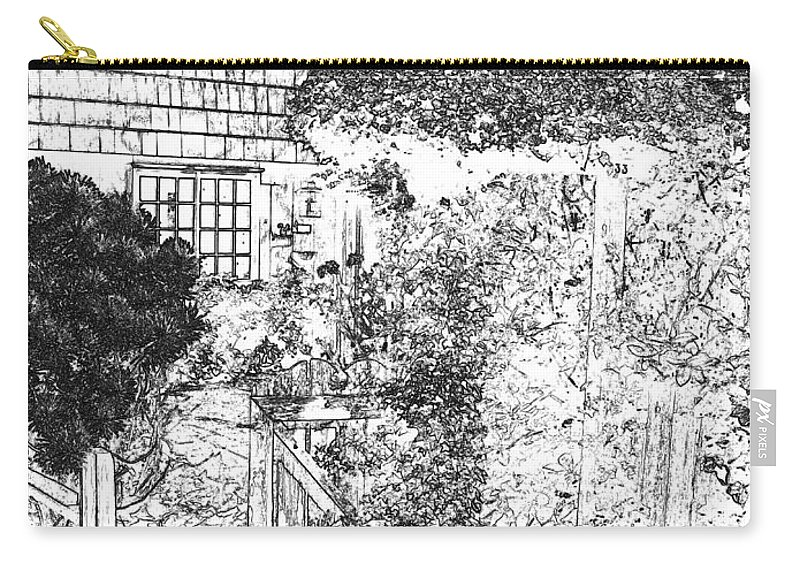 Welcome Home Carry-all Pouch featuring the digital art Welcome Home 2 by Will Borden