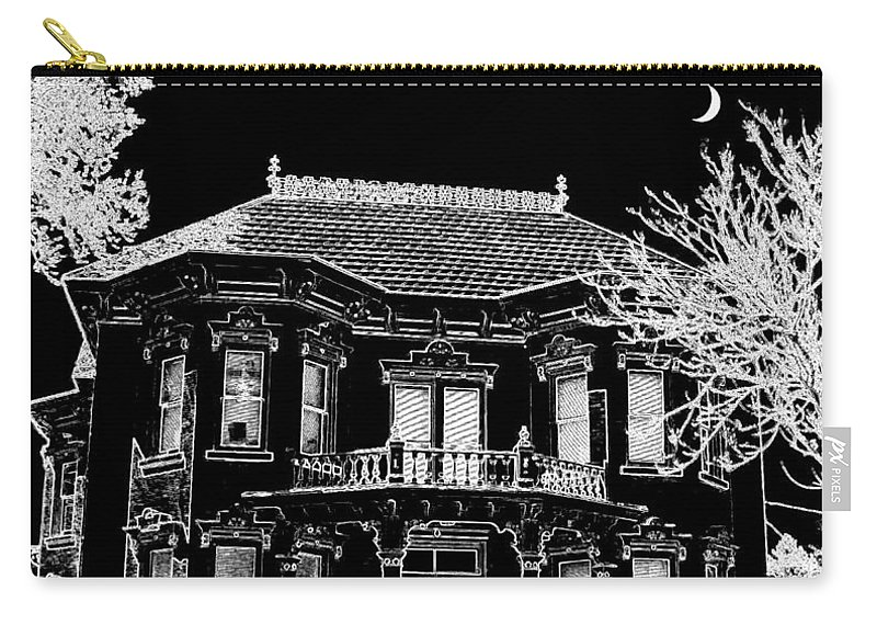 Welcome Home Carry-all Pouch featuring the digital art Welcome Home 4 by Will Borden