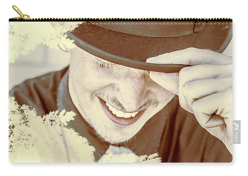 Jazz Carry-all Pouch featuring the photograph Welcome To The Show by Jorgo Photography - Wall Art Gallery