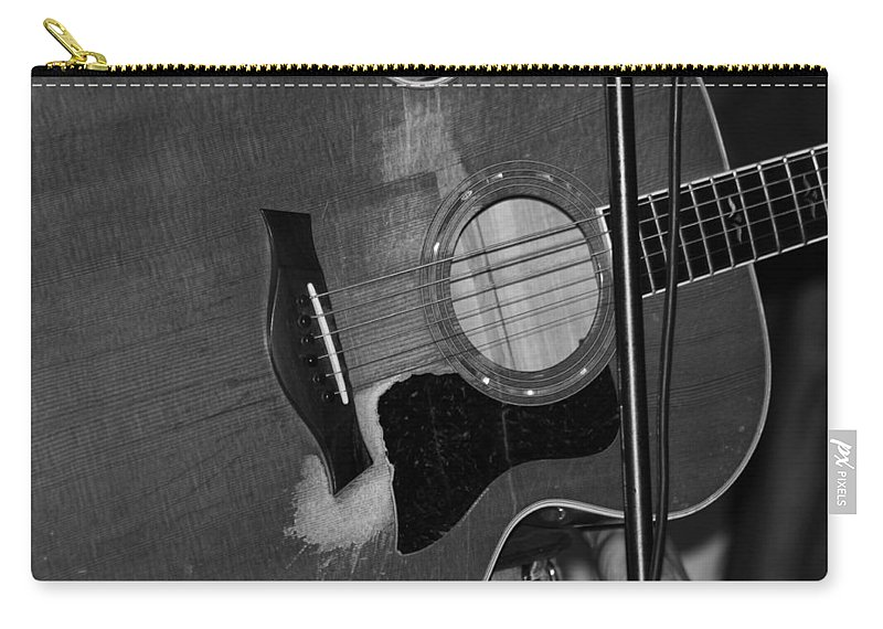 Guitar Carry-all Pouch featuring the photograph Well Played by Lauri Novak
