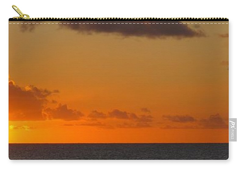 Sun Carry-all Pouch featuring the photograph West From Frigate Bay by Ian MacDonald