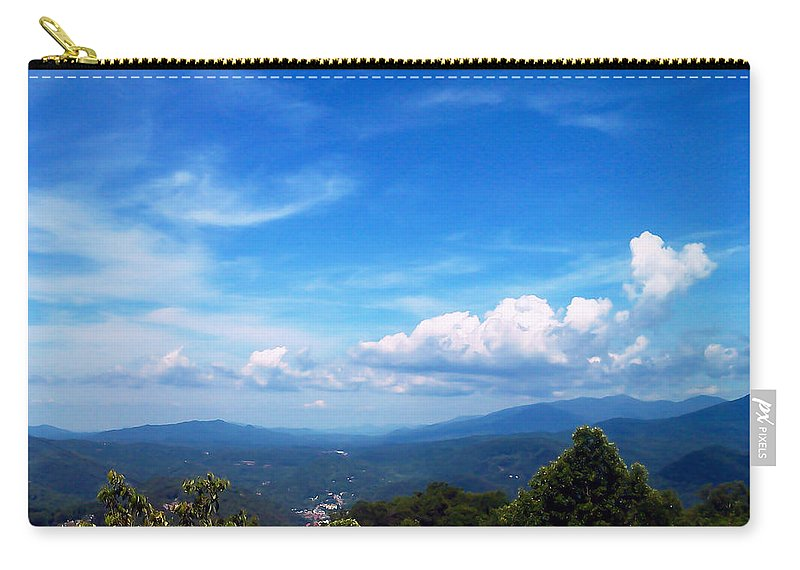 Pat Turner Carry-all Pouch featuring the photograph West Virginia Calling Me Home by Pat Turner