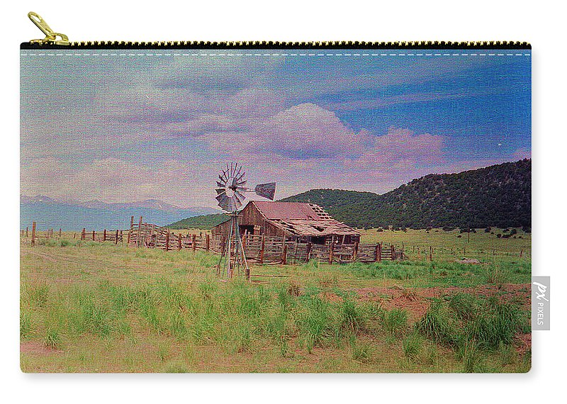Colorado Carry-all Pouch featuring the photograph Westcliff Colorado by Patricia Greer