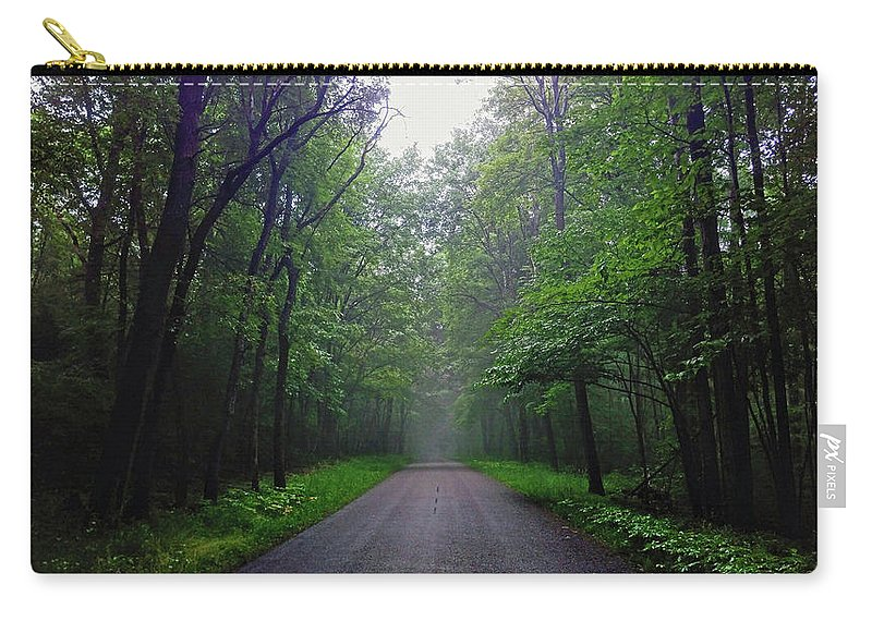 Oakland Township Carry-all Pouch featuring the photograph Western Pennsylvania - Oakland Township by Tim Tanner