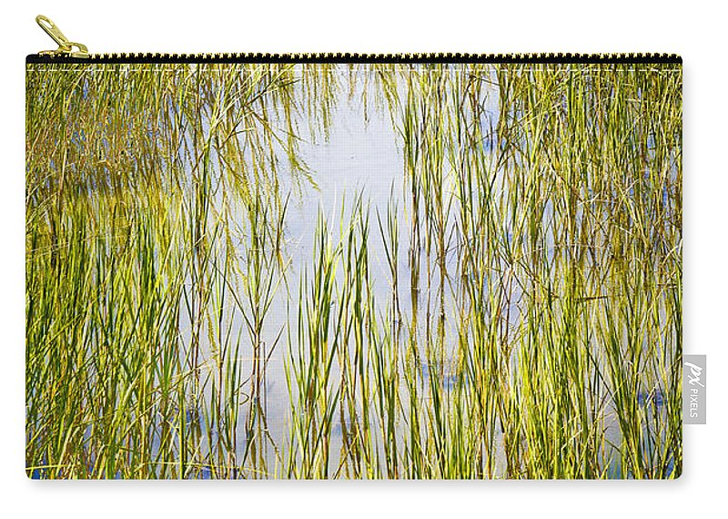 Wetlands Carry-all Pouch featuring the photograph Wetlands by Marilyn Hunt