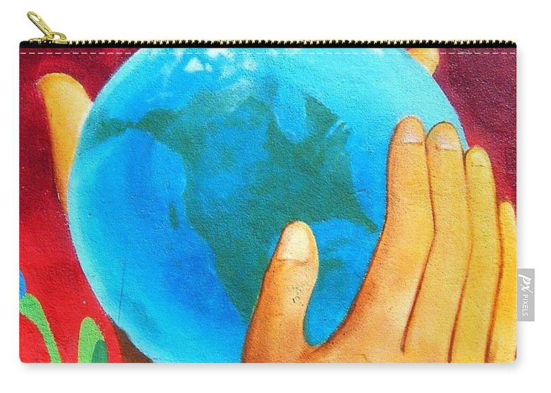Wonderful Carry-all Pouch featuring the photograph What a Wonderful World ... by Juergen Weiss