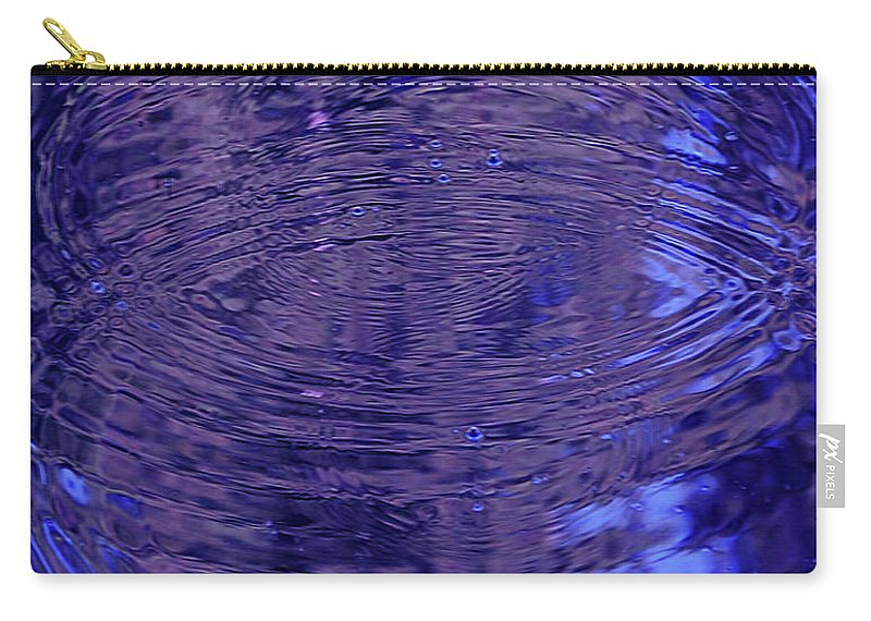 Water Carry-all Pouch featuring the digital art What Breathes Beneath by DigiArt Diaries by Vicky B Fuller
