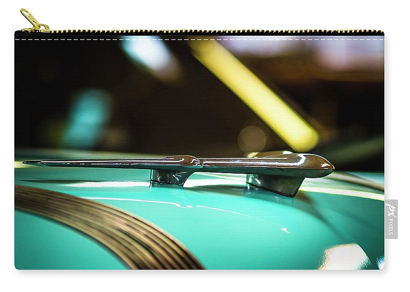 Auto Carry-all Pouch featuring the photograph When Cars Were Cool by Van Sutherland