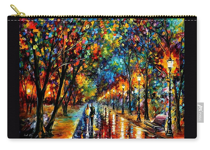 Landscape Carry-all Pouch featuring the painting When Dreams Come True by Leonid Afremov