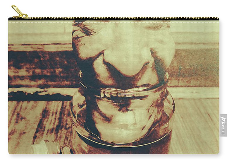 Horror Carry-all Pouch featuring the photograph When The Monsters Come Out To Play by Jorgo Photography - Wall Art Gallery