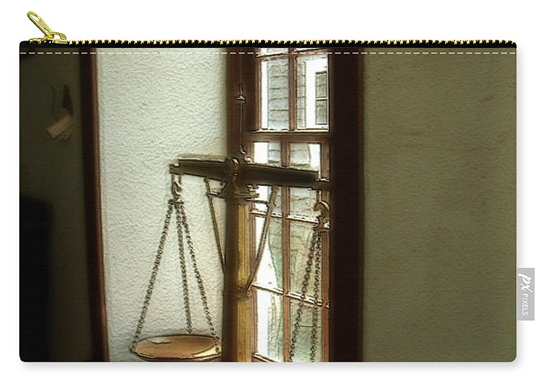 Window Carry-all Pouch featuring the painting Where Be His Quiddits Now? by RC DeWinter