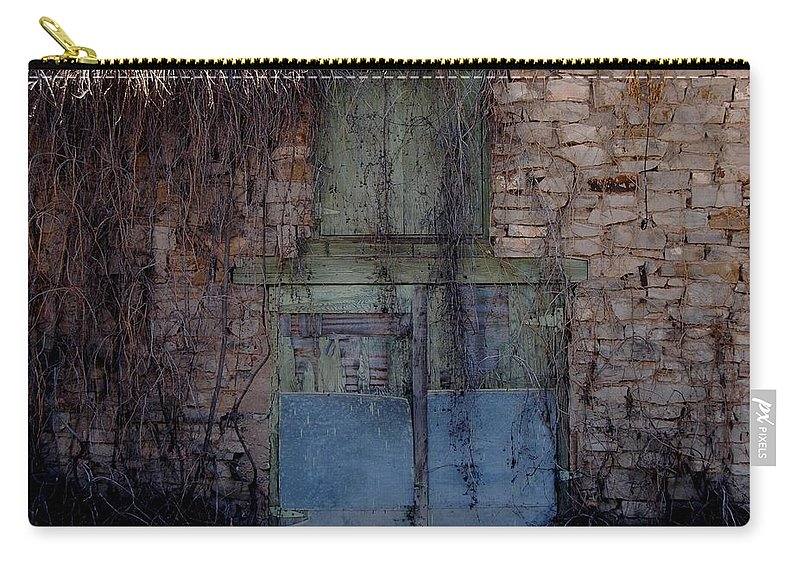 Color Photography Carry-all Pouch featuring the photograph Where It Happened by Kirk Griffith
