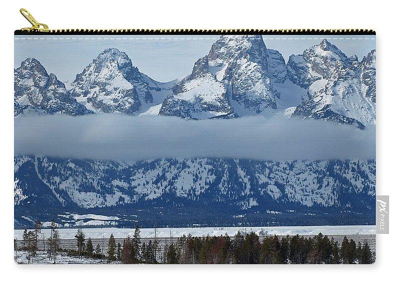 Bison Carry-all Pouch featuring the photograph Where The Buffalo Roam by DeeLon Merritt