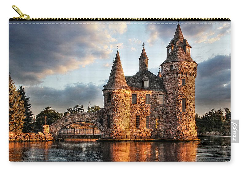 Thousand Islands Carry-all Pouch featuring the photograph Where Time Stands Still by Lori Deiter