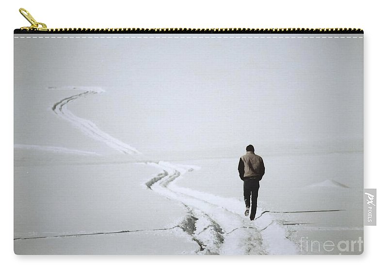 Landscape Carry-all Pouch featuring the photograph Where To by Sharon Eng