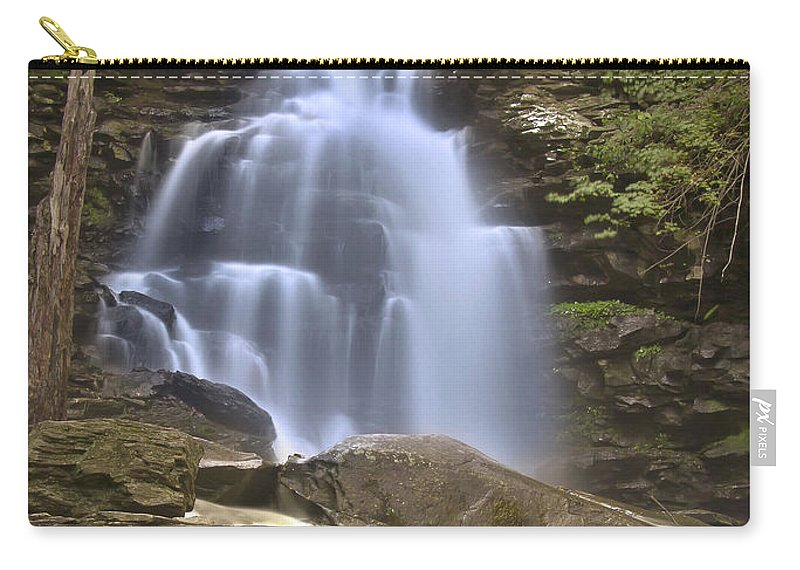 Blur Carry-all Pouch featuring the photograph Where Waters Flow by Evelina Kremsdorf