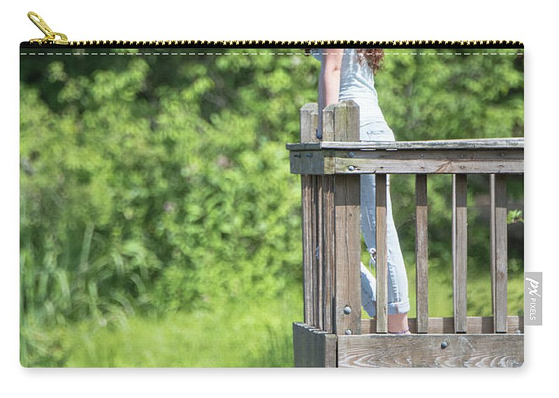 Natanson Carry-all Pouch featuring the photograph Wherefore Art Thou by Steven Natanson