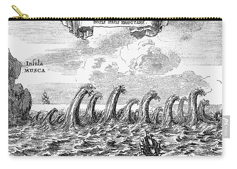 1678 Carry-all Pouch featuring the photograph Whirlpool: Maelstrom, 1678 by Granger