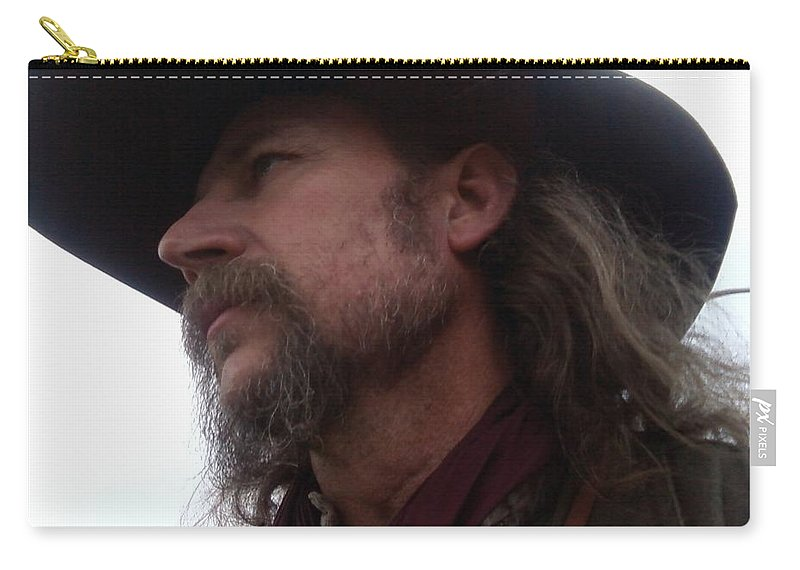 Whiskers Carry-all Pouch featuring the photograph Whiskers by Cindy New