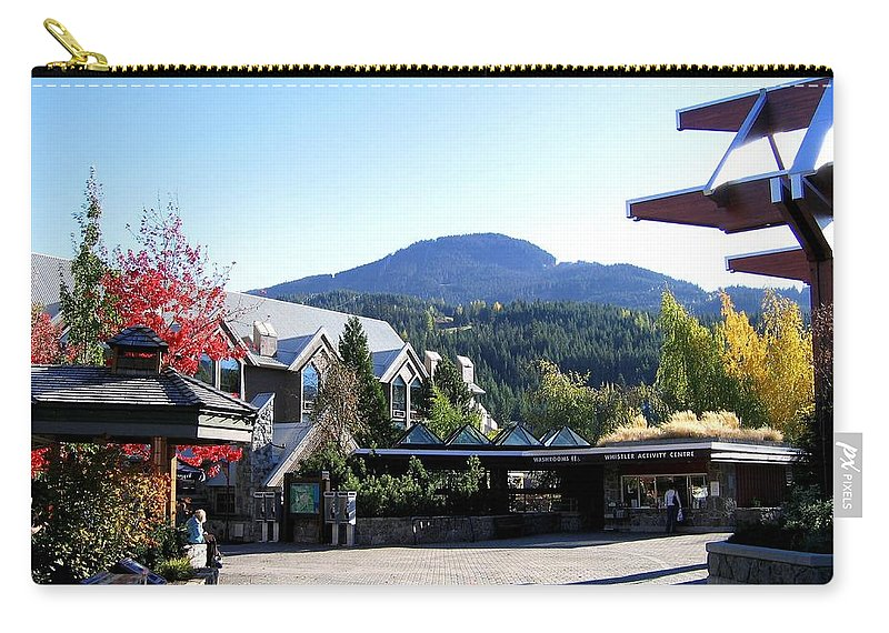 2010 Olympics Carry-all Pouch featuring the photograph Whistler Mountain by Will Borden