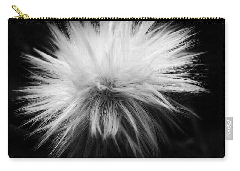 Nature Carry-all Pouch featuring the photograph White Hairs ... by Juergen Weiss