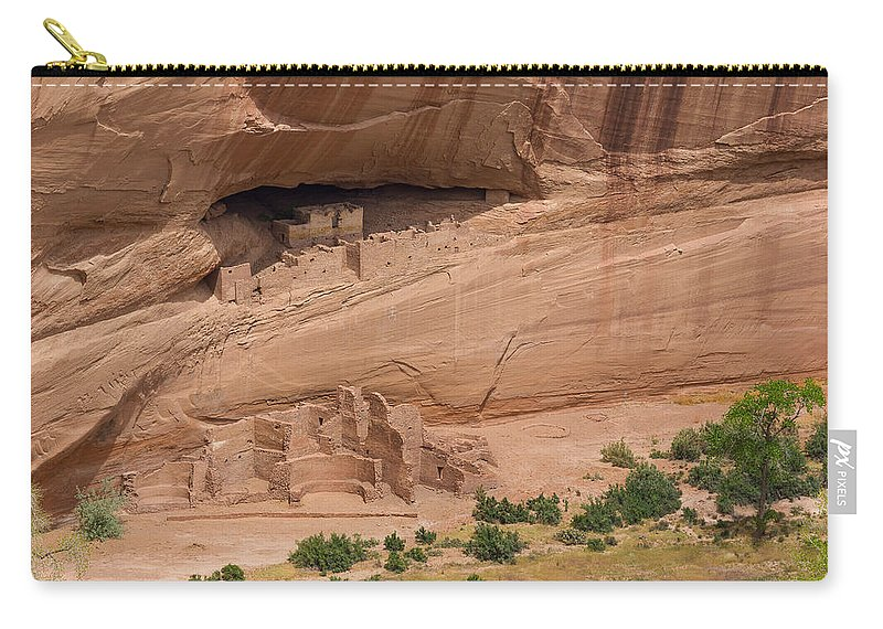 Canyon De Chelly Carry-all Pouch featuring the photograph White House Ruin by Penny Meyers