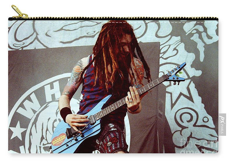 White Zombie Carry-all Pouch featuring the photograph White Zombie 93-jay-0349 by Timothy Bischoff