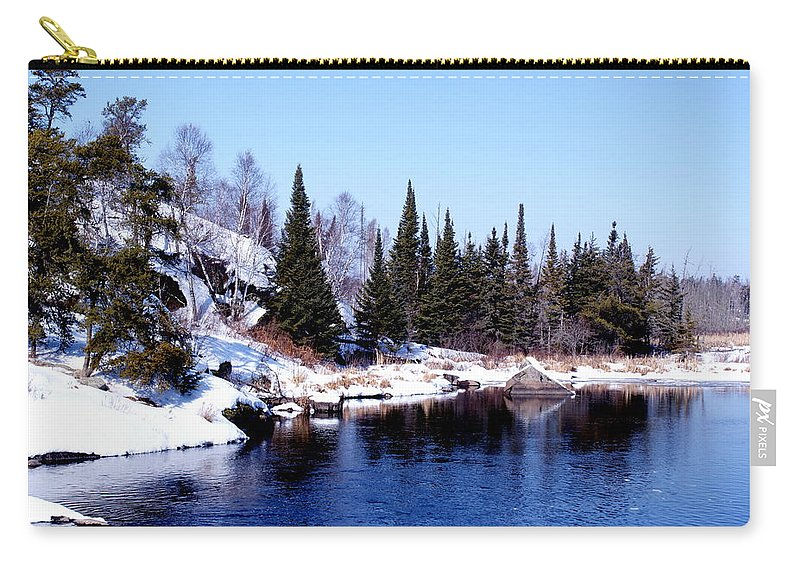 Whiteshell Provincial Park Canada Carry-all Pouch featuring the photograph Whiteshell Provincial Park by Joanne Smoley