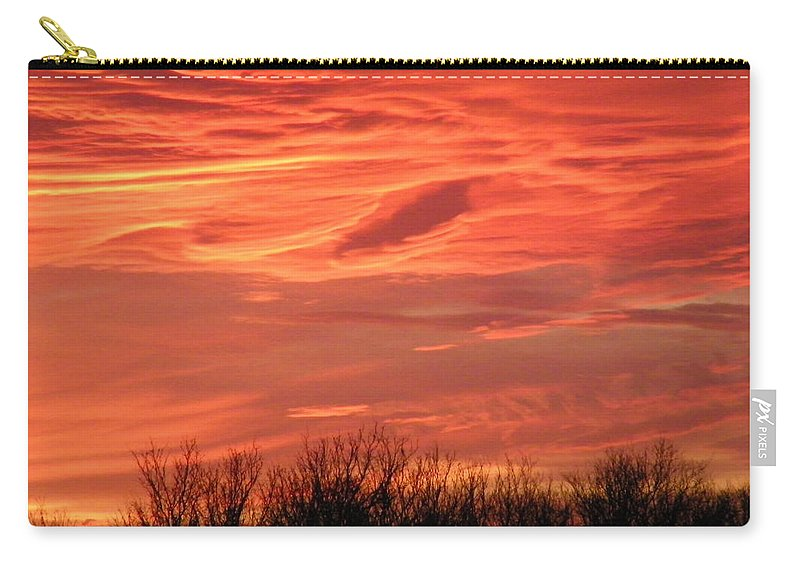 Sunset Carry-all Pouch featuring the photograph Who Needs Jupiter by Gale Cochran-Smith