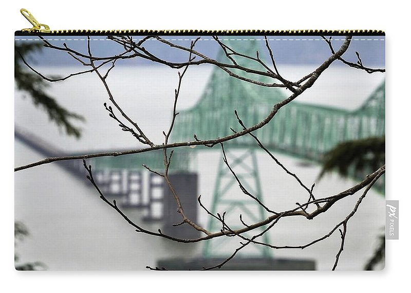 Bridge Carry-all Pouch featuring the photograph Who's The Architect? by James Michael Olson