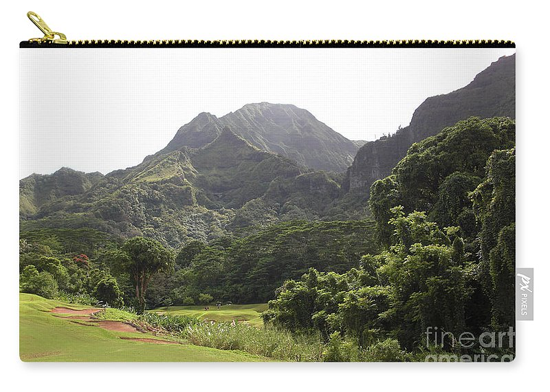 Landscape Carry-all Pouch featuring the photograph Why Golf by Ron Bissett