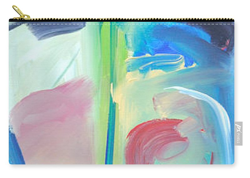 Woman Carry-all Pouch featuring the painting Why The Long Face by Tim Nyberg
