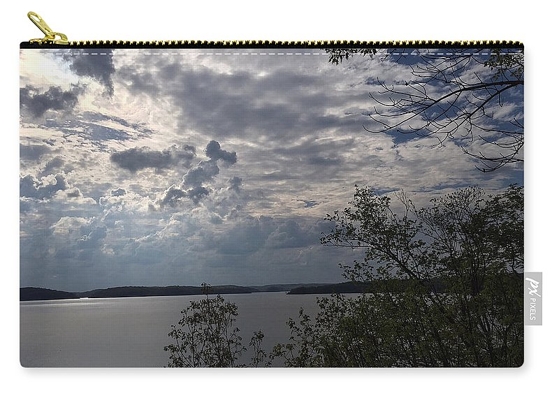Wappapello Lake Carry-all Pouch featuring the photograph View Across Wappapello Lake by James Pinkerton