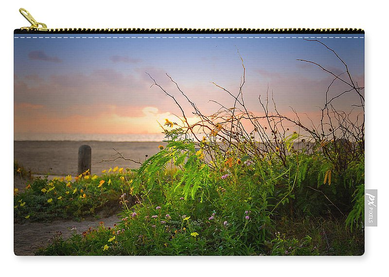 Landscape Carry-all Pouch featuring the photograph Wild At Sunrise by Leticia Latocki