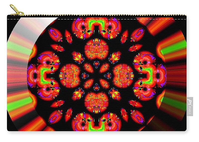Coin Carry-all Pouch featuring the digital art Wild Child by Robert Orinski