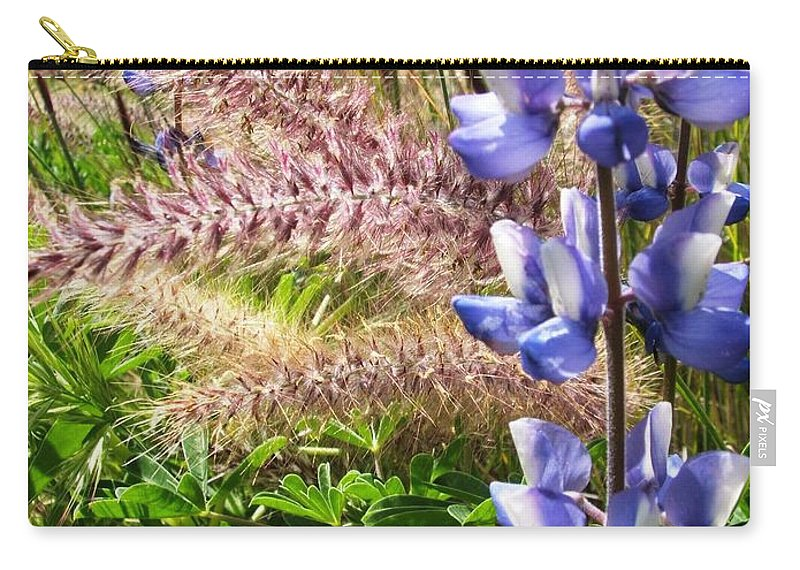 Flower Carry-all Pouch featuring the photograph Wild Flower by Shari Chavira