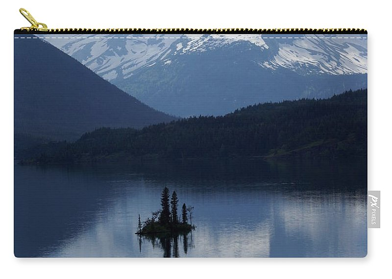 Wild Goose Island Carry-all Pouch featuring the photograph Wild Goose Island by Marty Koch