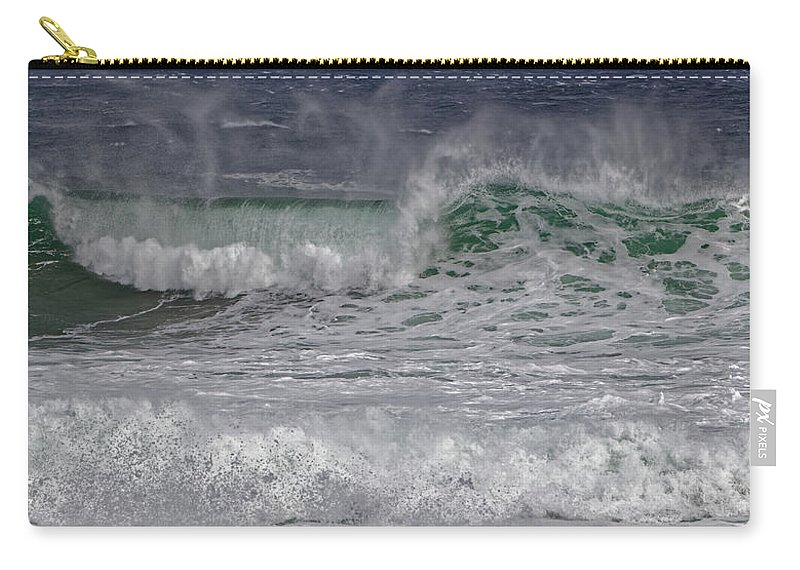 Australia Carry-all Pouch featuring the photograph Wild Ocean by Renee Miller
