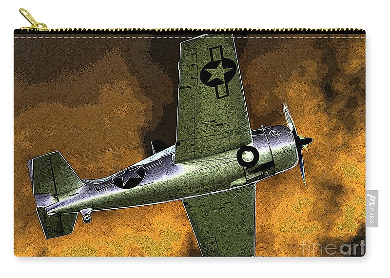 Wildcat Carry-all Pouch featuring the painting Wildcat by David Lee Thompson