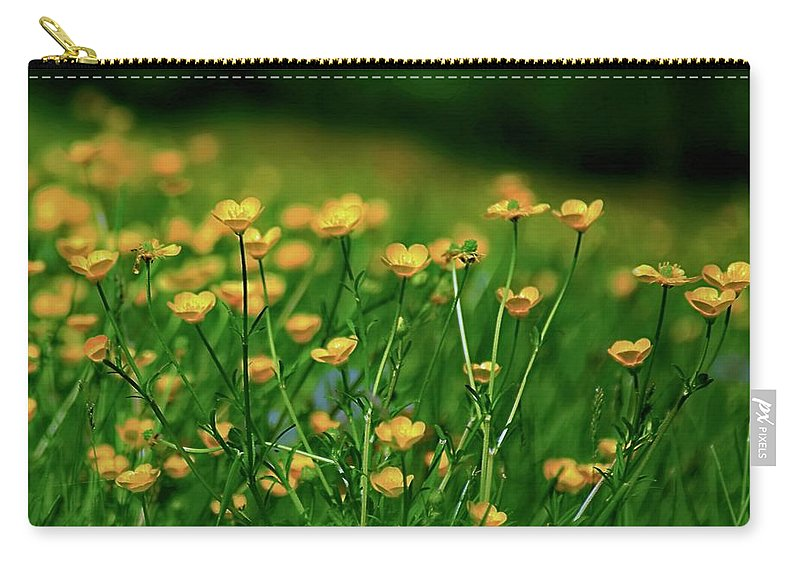 Yellow Carry-all Pouch featuring the photograph Wilderness by Earl Telfair