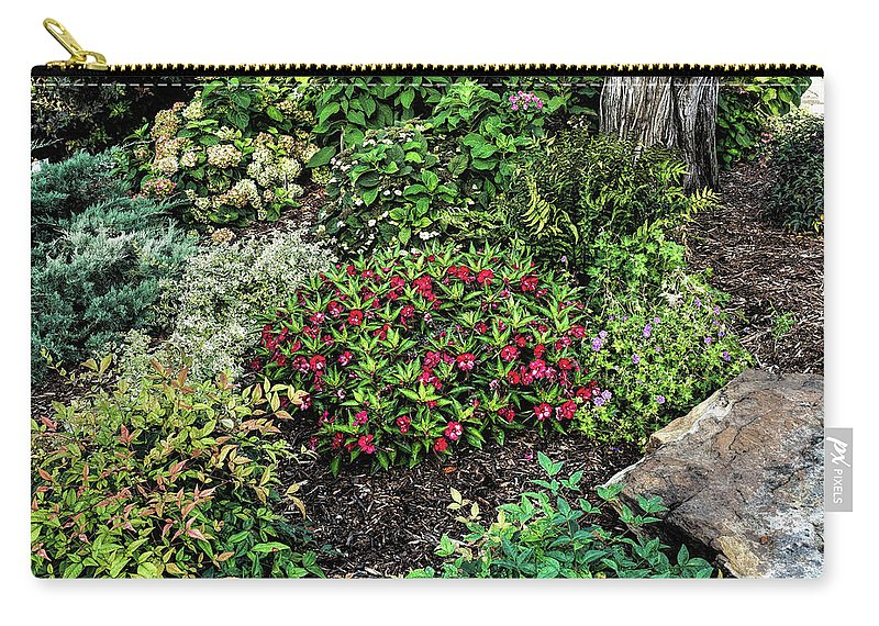 Nature Carry-all Pouch featuring the photograph Wildflower V20 by John Straton