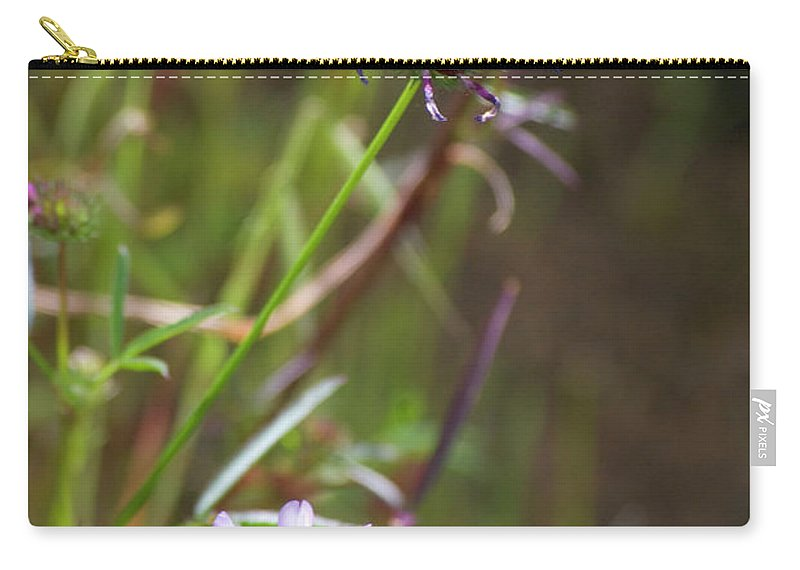 Pink Carry-all Pouch featuring the photograph Wildflowers by Jim And Emily Bush