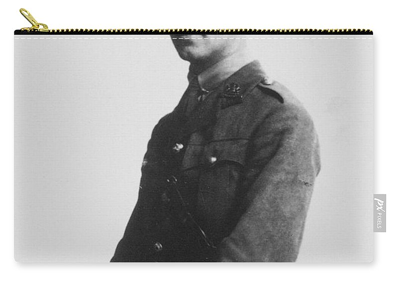 1916 Carry-all Pouch featuring the photograph Wilfred Owen (1893-1918) by Granger