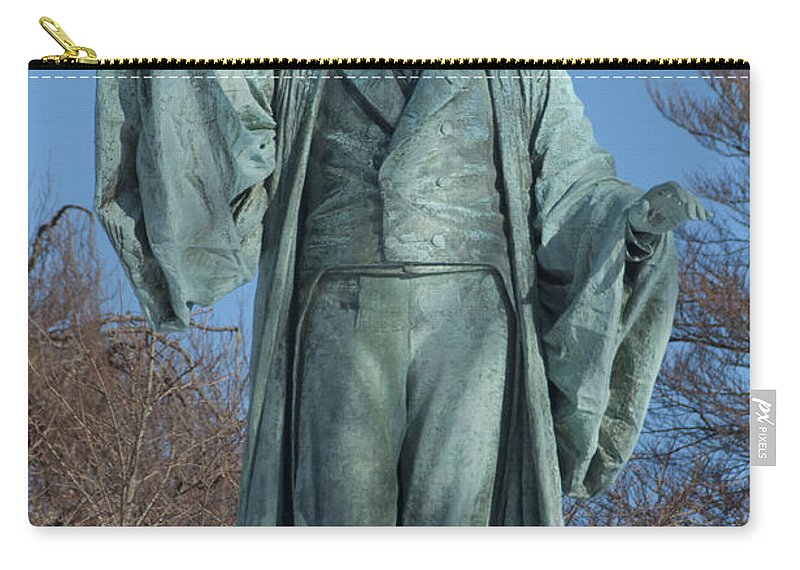 william Ellery Channing Carry-all Pouch featuring the photograph William Ellery Channing by Steven Natanson
