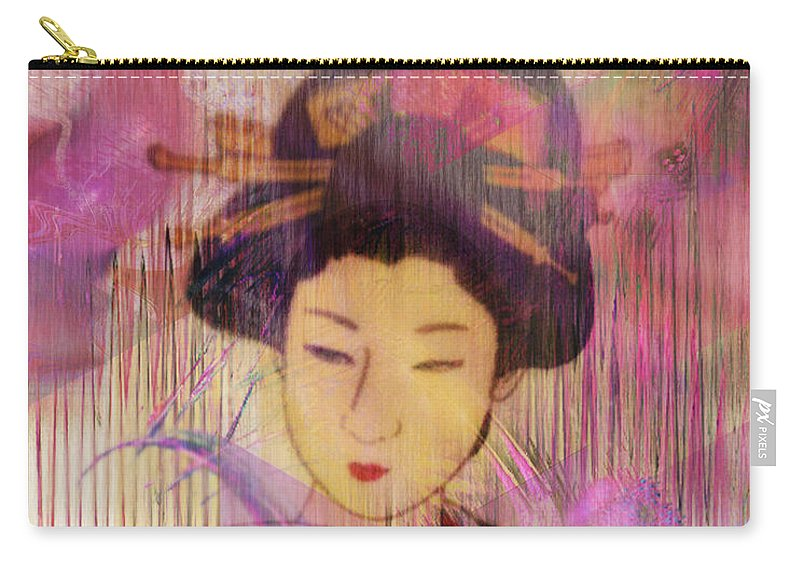 Willow World Carry-all Pouch featuring the digital art Willow World by John Beck