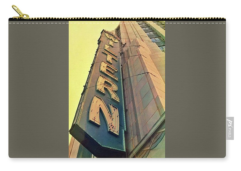 Wiltern Carry-all Pouch featuring the photograph Wiltern by Mary McGrath